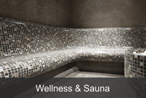 Wellnessbänke und Saunaliegen